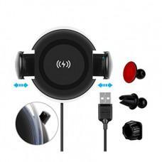 Беспроводная зарядка + держатель Momax Q.Dock Wireless Charging Car mount CM8D