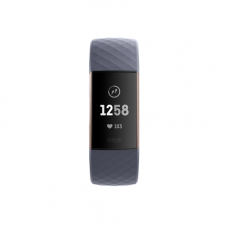 Фитнес-браслет Fitbit Charge 3 Rose Gold/Blue Grey