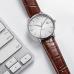 Механические часы Xiaomi Mi Twenty Seventeen Mechanical Watch White/Brown