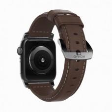 Ремешок Nomad Classic Strap для Apple Watch 38/40mm Rustic Brown