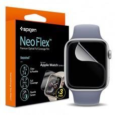 Защитная пленка Spigen Film Neo Flex для Apple Watch 44mm (3шт в уп.)