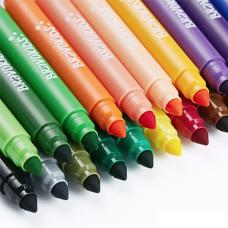 Моющиеся акварельные маркеры Xiaomi Bravokids 24 цвета