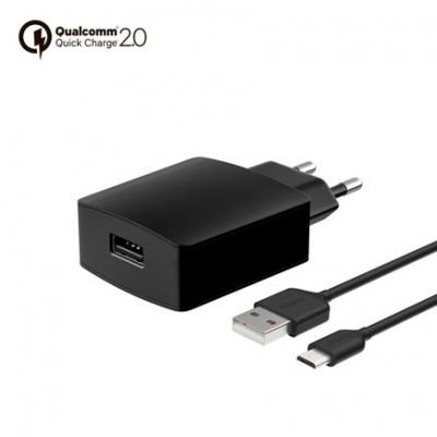 Сетевое ЗУ Deppa Ultra USB Quick Charge 2.0