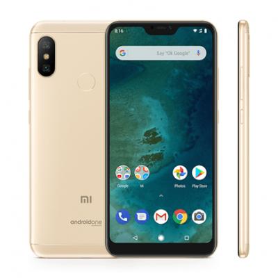Смартфон Xiaomi Mi A2 Lite 3/32Gb Золотой / Gold