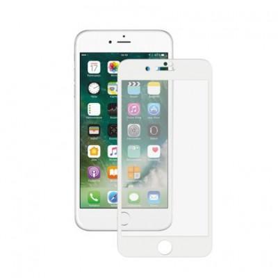 Защитное 3D стекло Deppa 0,3 мм для iPhone 7 Plus / 8 Plus купить со скидкой
