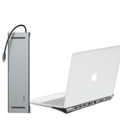 Хаб-подставка Baseus Enjoyment Series Type-C Notebook HUB Adapter