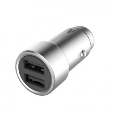 Автомобильное ЗУ Xiaomi ZMI Metal Car Charger 2USB 3,6A