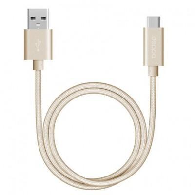 Кабель с нейлоновой оплёткой Deppa Alum USB-C/USB 3.0 (1,2 м)