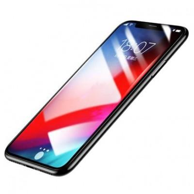 Защитное стекло Baseus Full Coverage Tempered Glass Screen Protector для iPhone XS Max / 11 Pro Max купить со скидкой