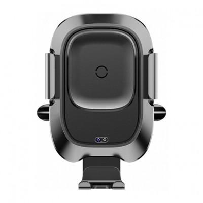 Автоматический автомобильный держатель с беспроводной зарядкой Baseus Smart Vehicle Bracket Wireless Charger