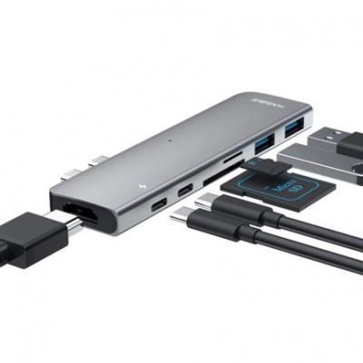 Хаб 7-в-1 Xiaomi Mi HAGiBiS Type-C