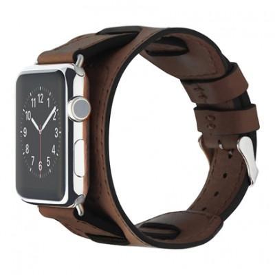 Ремешок Cozistyle Wide Leather Band для Apple Watch 42/44mm