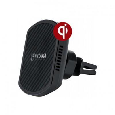 Автомобильный держатель с беспроводной зарядкой Pitaka MagMount Qi Pro Wireless Air Vent Mount CM002Q