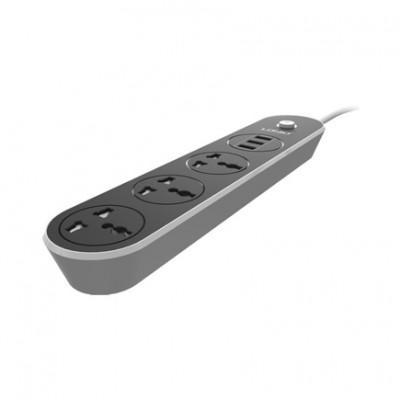 Сетевой удлинитель LDNIO SC3301 (3 USB, 3 Розетки, 1.6 м)