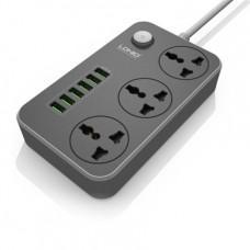 Cетевой удлинитель с USB портами LDNIO 6 USB 3 Power Socket 2 m