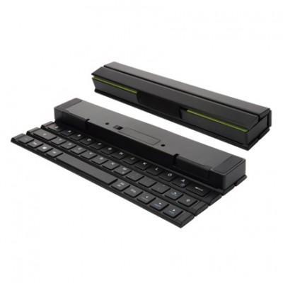 Сворачиваемая беспроводная портативная клавиатура ROCK Multi-function Rollable Bluetooth Foldable Keyboard