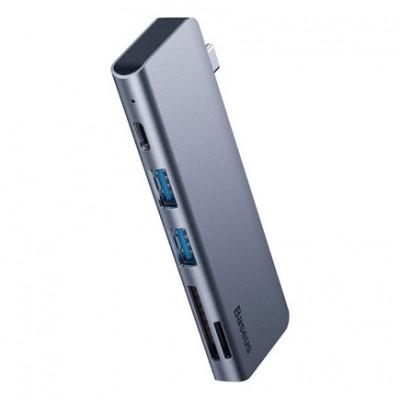 Хаб Baseus Harmonica 5-in-1 USB Hub Adapter