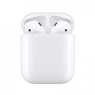 Наушники Apple AirPods в футляре с возможностью беспроводной зарядки (2-го поколения)