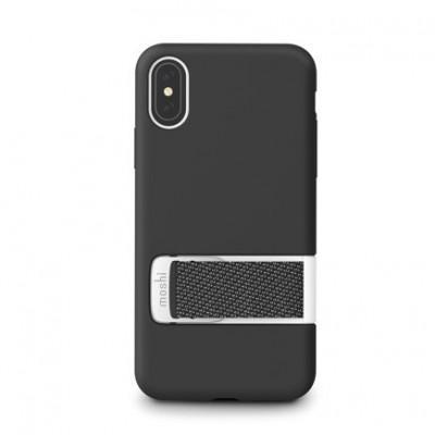 Защитный чехол с ремешком MultiStrap Moshi Capto для iPhone X/XS