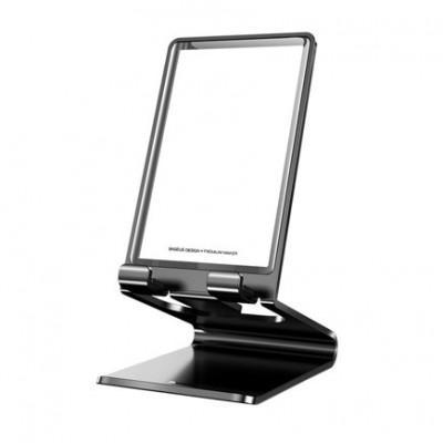 Универсальная металлическая подставка для смартфонов Baseus Suspension Glass Desktop Bracket