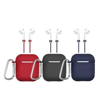 Чехол с карабином и шнурком Uniq Vencer Hang case для Airpods
