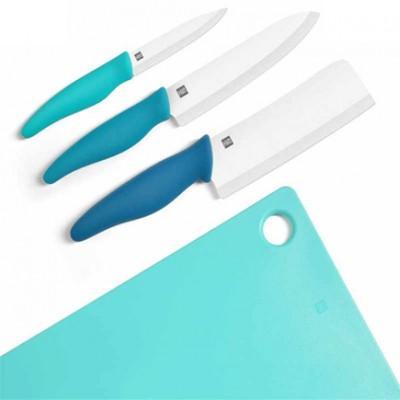 Набор керамических ножей с разделочной доской Xiaomi Huohou Ceramic Knife ChooDina Block Kit