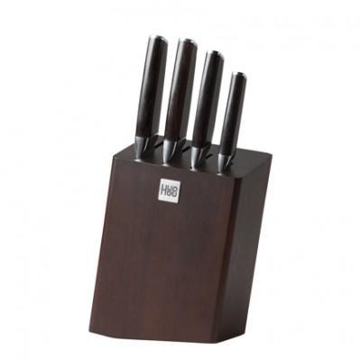 Набор ножей с подставкой Xiaomi Huo Hou Fire Waiting Steel Knife Set