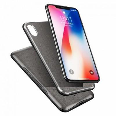 Чехол-АКБ с беспроводной зарядкой ROCK Wireless Charging Case для iPhone XR