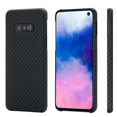Чехол Pitaka Aramid MagCase Twill для Samsung S10e Black-Grey