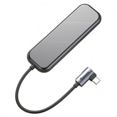 Хаб Baseus Mirror Series - USB-C (PD) USB 3.0 x4