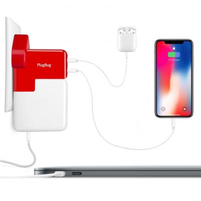 Сетевое ЗУ Twelve South PlugBug Duo для MacBook Pro/Air, iPhone, iPad