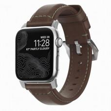 Ремешок Nomad Classic Strap для Apple Watch 42/44mm Rustic Brown