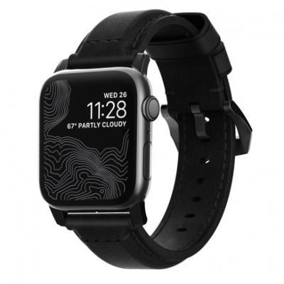 Ремешок Nomad Classic Strap для Apple Watch 42/44mm Black