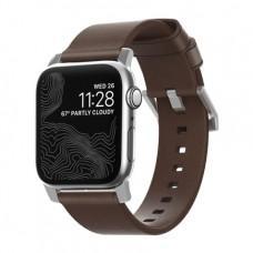 Ремешок Nomad Modern Strap для Apple Watch 38/40mm Rustic Brown