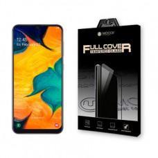 Защитное стекло MOCOLL Storm 2.5D для Samsung A20/A30/A50 Black