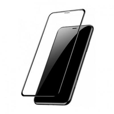 Защитное стекло Baseus 3D Arc-Surface Anti-Fingerprints 0.2mm для iPhone XR / 11