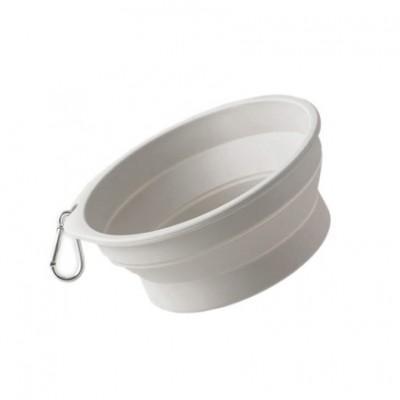 Силиконовая складная чаша для животных Xiaomi Pet Silicone Folding Bowl Small