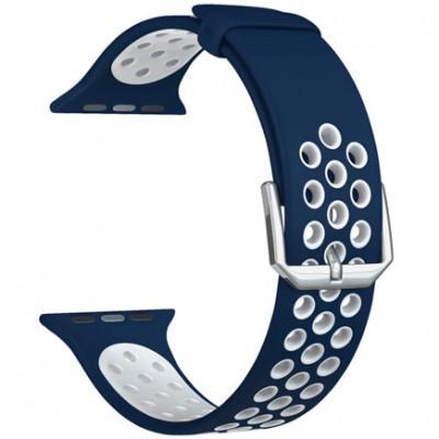 Силиконовый ремешок Lyambda Alioth для Apple Watch 38/40mm
