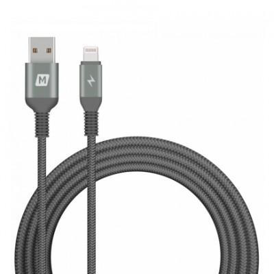 Кабель MFi с нейлоновой оплёткой Momax Elite Link Lightning/USB (1,2 м)