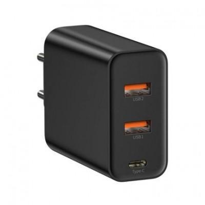 Сетевое ЗУ Baseus Speed PPS Quick Charger Adaptor (60W, 2x USB 3.0 QC, Type-C PD)