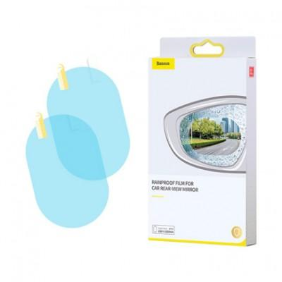 Baseus 0.15mm Rainproof Film For Car Rear-View Mirror Oval 150x100mm 2шт