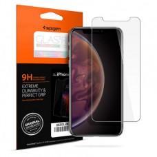 Защитное стекло Spigen GLAS.tR SLIM HD для iPhone X/XS/11 Pro