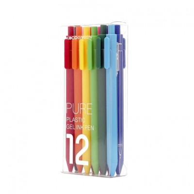 Набор цветных гелевых ручек Xiaomi KacoGreen 12 цветов