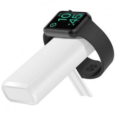 Портативный аккумулятор COTEetCI 2in1 с зарядкой для Apple Watch