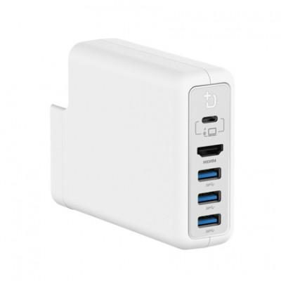 Док-станция DockCase P1 HD для Apple Power Adapter 87W (3xUSB 3.0 QC, HDMI)