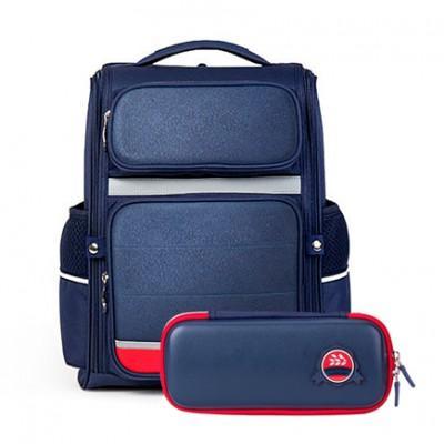 Рюкзак школьный водонепроницаемый с пеналом Xiaomi Xiaoyang 25L Backpack Blue