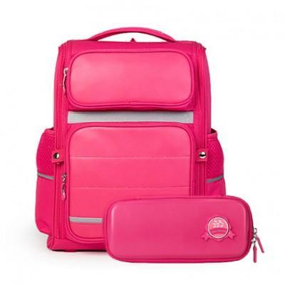 Рюкзак школьный водонепроницаемый с пеналом Xiaomi Xiaoyang 25L Backpack Pink