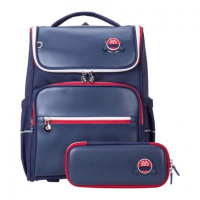 Рюкзак школьный ортопедический с пеналом Xiaomi Xiaoyang Small Student Backpack Blue
