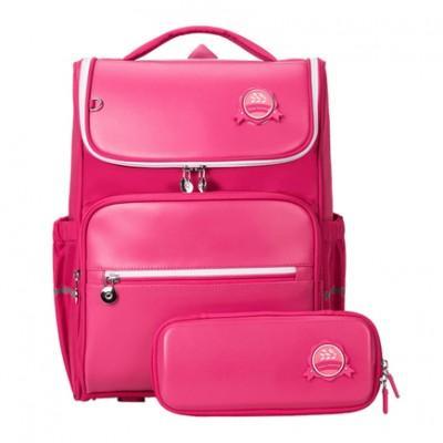 Рюкзак школьный ортопедический с пеналом Xiaomi Xiaoyang Small Student Backpack Pink