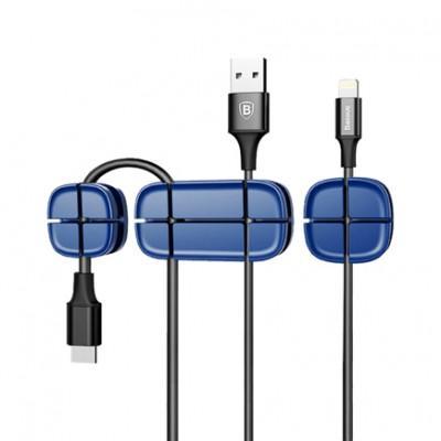 Комплект кабель-органайзеров Baseus Cross-Peas Cable Clip